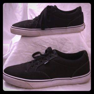 Vans Men Black Doheny Size 11
